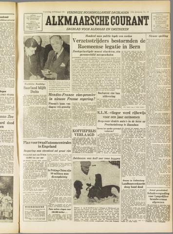Alkmaarsche Courant 1955-02-16