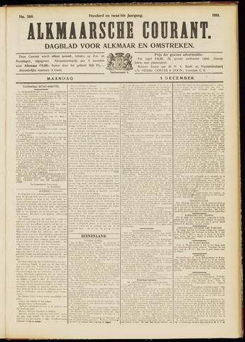 Alkmaarsche Courant 1910-12-05