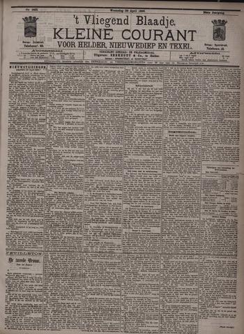 Vliegend blaadje : nieuws- en advertentiebode voor Den Helder 1896-04-29