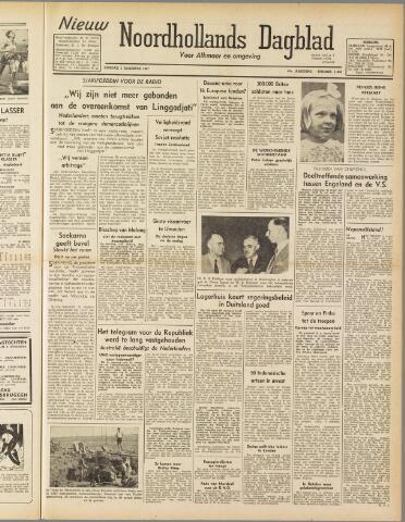 Nieuw Noordhollandsch Dagblad : voor Alkmaar en omgeving 1947-08-05