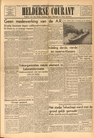 Heldersche Courant 1952-07-22