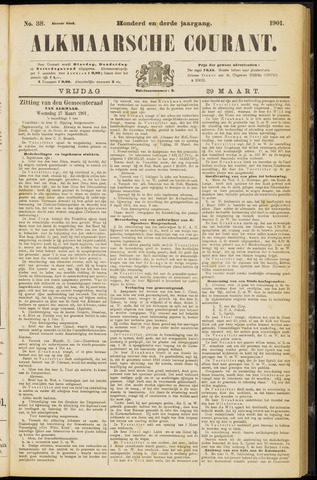 Alkmaarsche Courant 1901-03-29