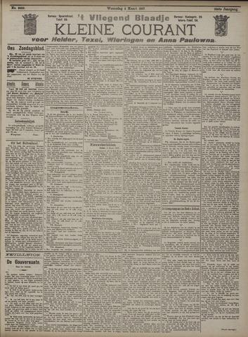 Vliegend blaadje : nieuws- en advertentiebode voor Den Helder 1907-03-06