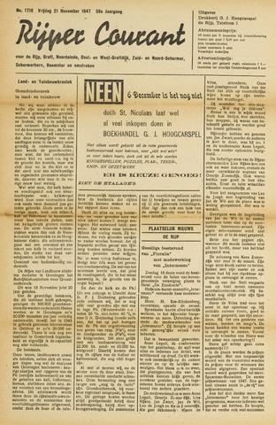 Rijper Courant 1947-11-21