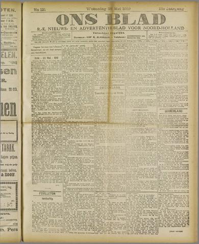 Ons Blad : katholiek nieuwsblad voor N-H 1919-05-28