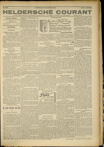 Heldersche Courant 1925-11-19