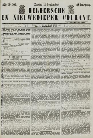 Heldersche en Nieuwedieper Courant 1870-09-11