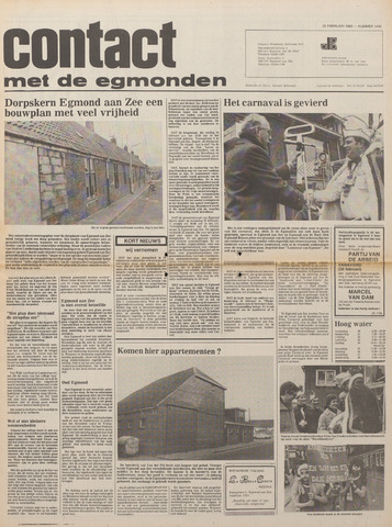 Contact met de Egmonden 1980-02-20