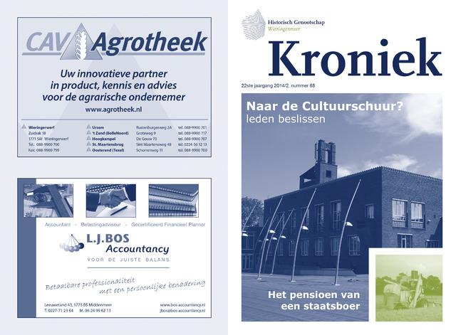 Kroniek Historisch Genootschap Wieringermeer 2014-08-01