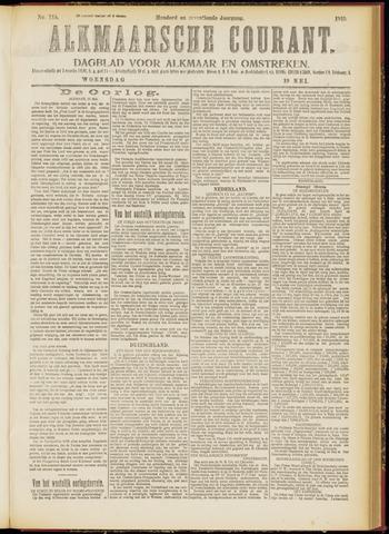 Alkmaarsche Courant 1915-05-19