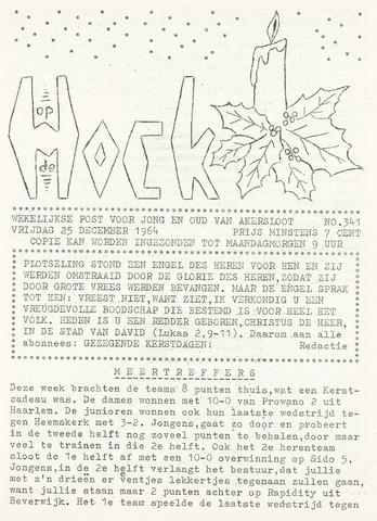 Op De Hoek, weekblad voor Akersloot 1964-12-25
