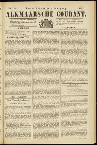 Alkmaarsche Courant 1889-11-08