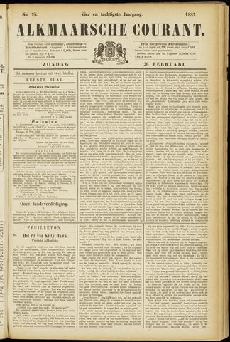 Alkmaarsche Courant 1882-02-26