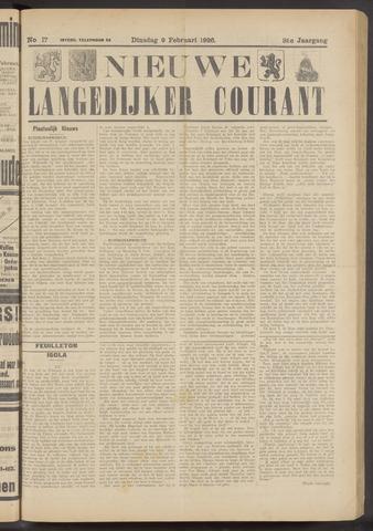 Nieuwe Langedijker Courant 1926-02-09
