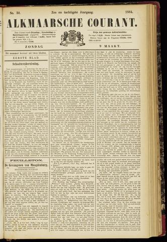Alkmaarsche Courant 1884-03-09