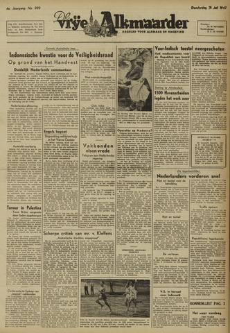 De Vrije Alkmaarder 1947-07-31