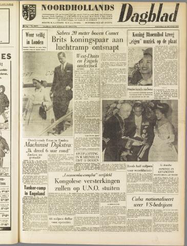 Noordhollands Dagblad : dagblad voor Alkmaar en omgeving 1960-10-26