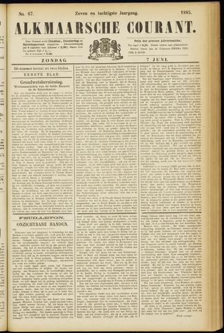 Alkmaarsche Courant 1885-06-07