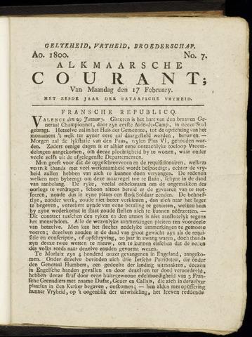 Alkmaarsche Courant 1800-02-17