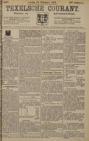 Texelsche Courant 1916-02-13
