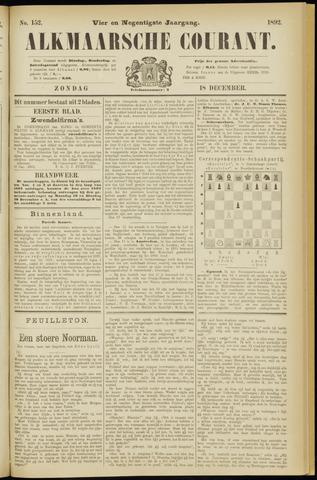 Alkmaarsche Courant 1892-12-18