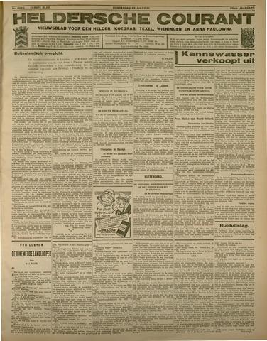 Heldersche Courant 1931-07-23