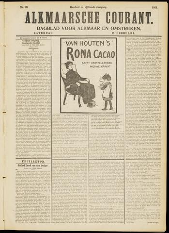 Alkmaarsche Courant 1913-02-15
