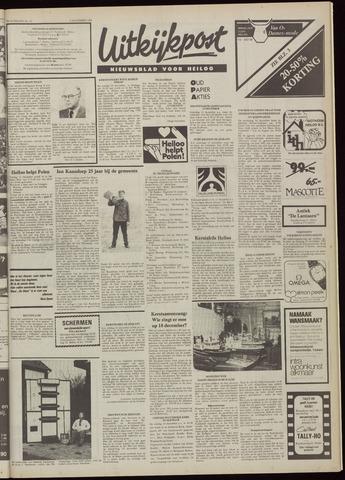 Uitkijkpost : nieuwsblad voor Heiloo e.o. 1981-12-09