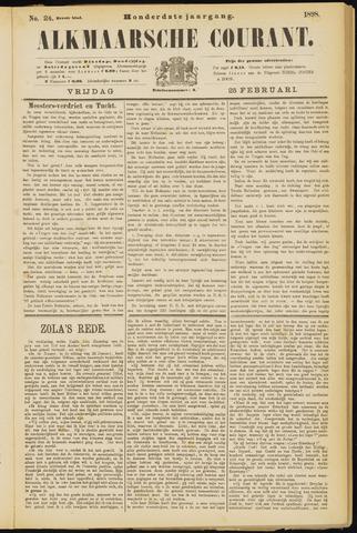 Alkmaarsche Courant 1898-02-25