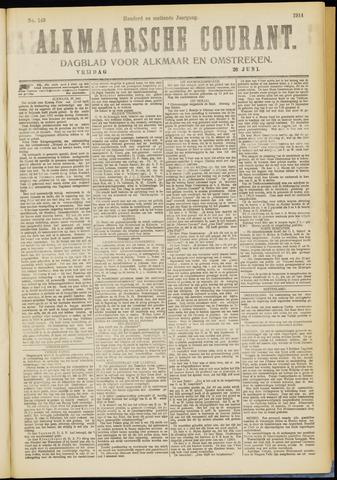 Alkmaarsche Courant 1914-06-26