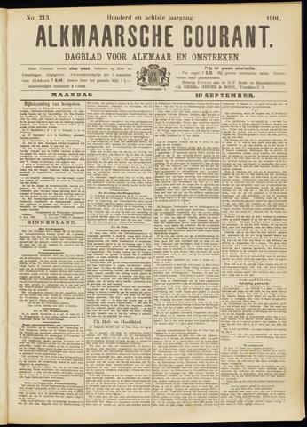 Alkmaarsche Courant 1906-09-10