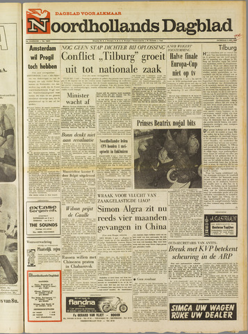 Noordhollands Dagblad : dagblad voor Alkmaar en omgeving 1969-05-03