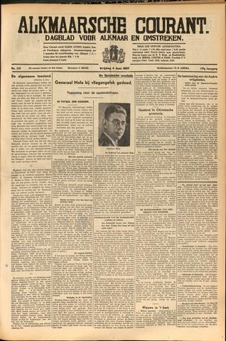 Alkmaarsche Courant 1937-06-04