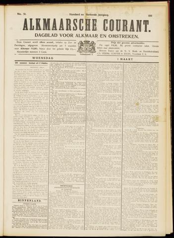 Alkmaarsche Courant 1911-03-01