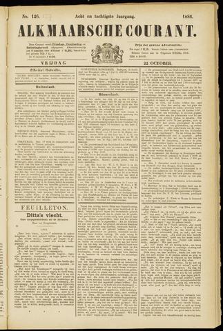 Alkmaarsche Courant 1886-10-22