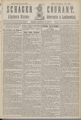 Schager Courant 1920-07-24