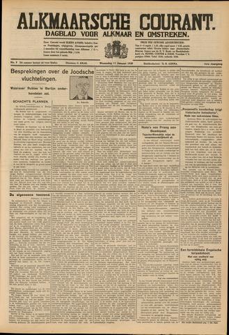 Alkmaarsche Courant 1939-01-11