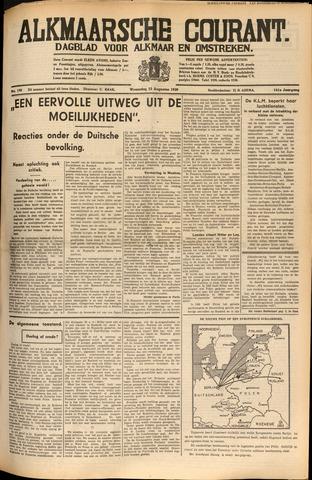 Alkmaarsche Courant 1939-08-23