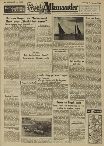 De Vrije Alkmaarder 1949-08-02