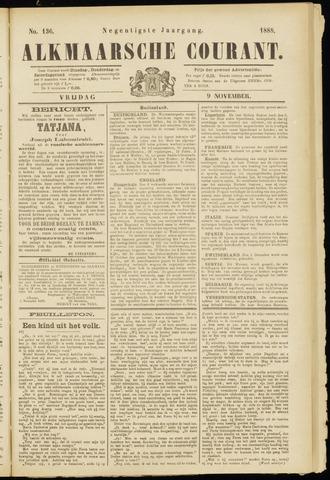 Alkmaarsche Courant 1888-11-09