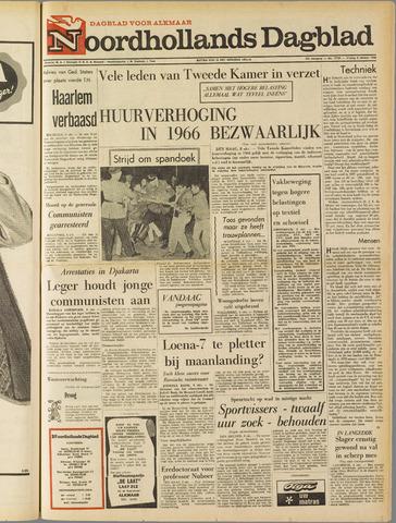 Noordhollands Dagblad : dagblad voor Alkmaar en omgeving 1965-10-08