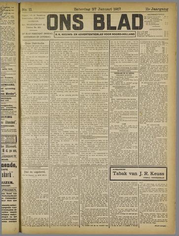 Ons Blad : katholiek nieuwsblad voor N-H 1917-01-27