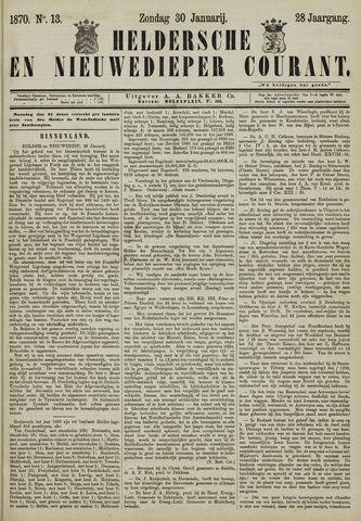 Heldersche en Nieuwedieper Courant 1870-01-30
