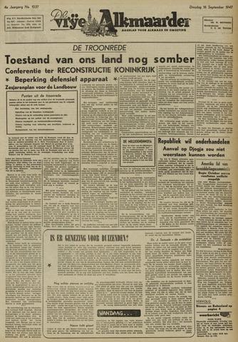 De Vrije Alkmaarder 1947-09-16
