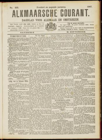 Alkmaarsche Courant 1907-09-21