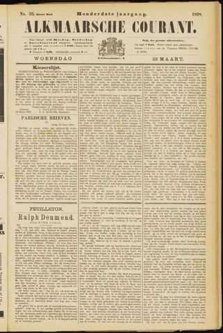 Alkmaarsche Courant 1898-03-23