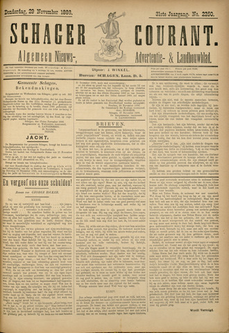 Schager Courant 1888-11-29