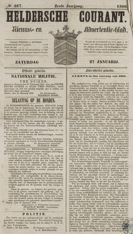 Heldersche Courant 1866-01-27