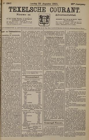 Texelsche Courant 1915-08-22