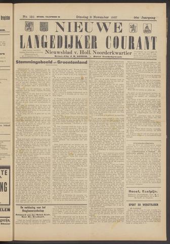 Nieuwe Langedijker Courant 1927-11-08